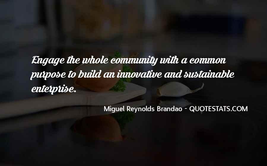 Quotes About Common Purpose #1005752