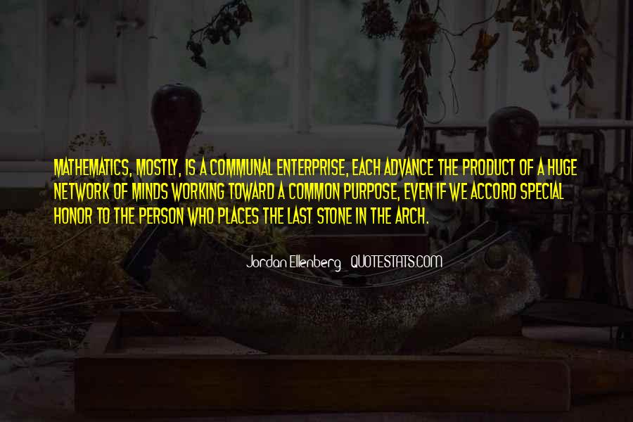 Quotes About Common Purpose #1043117
