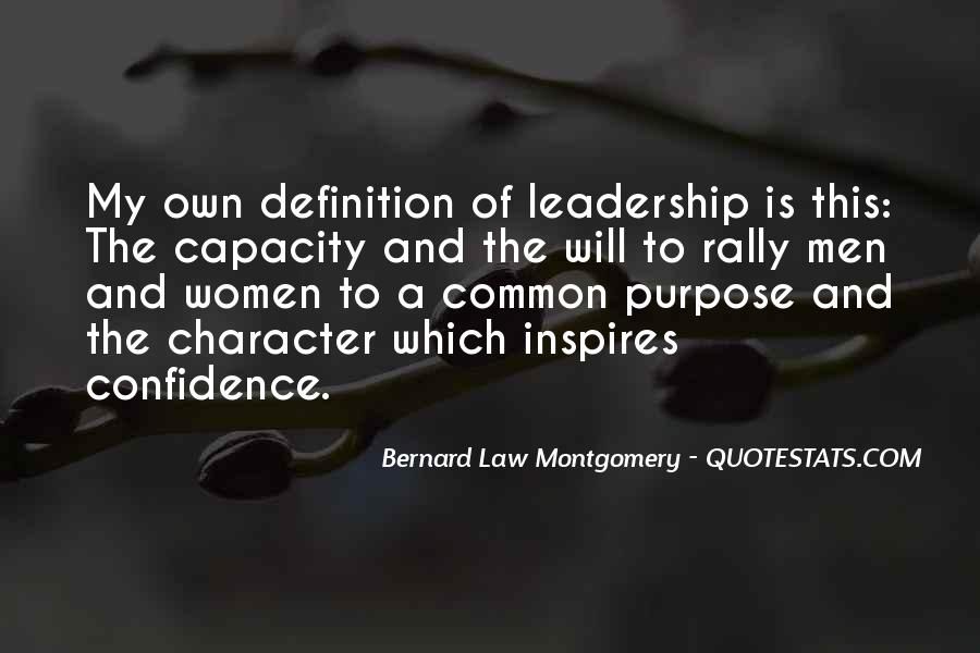 Quotes About Common Purpose #116050