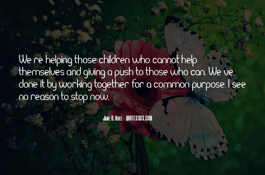 Quotes About Common Purpose #1206140