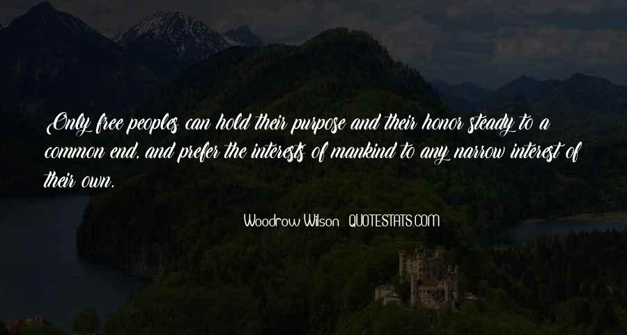 Quotes About Common Purpose #1365796
