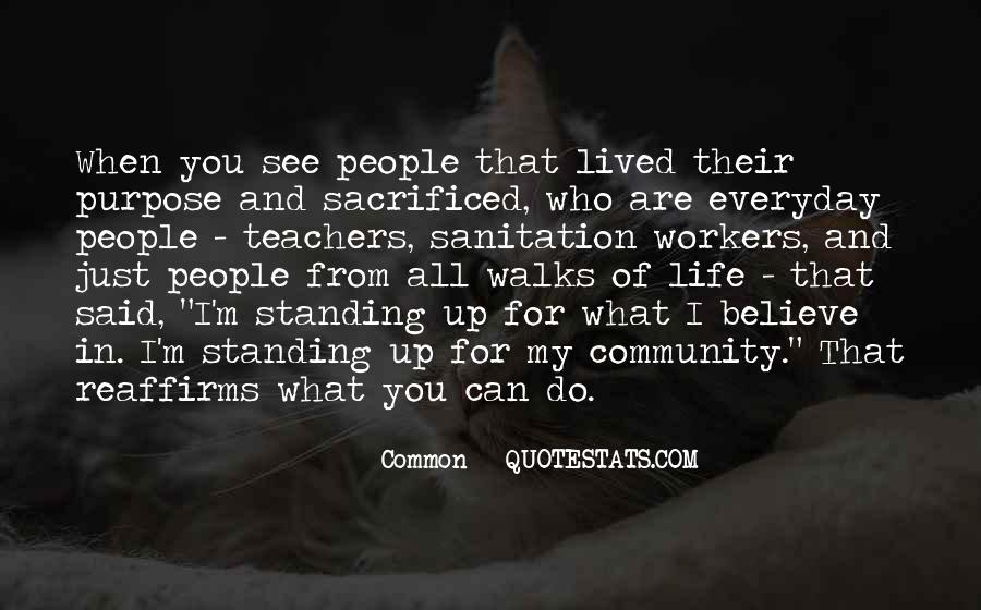 Quotes About Common Purpose #1413192