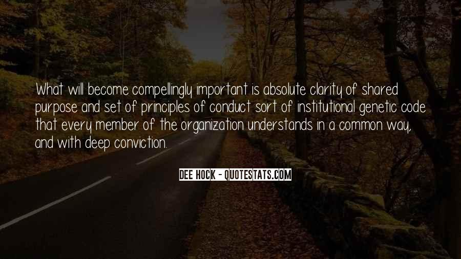 Quotes About Common Purpose #1489856