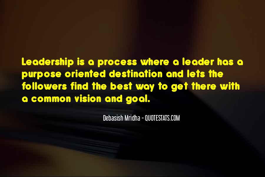 Quotes About Common Purpose #1572241