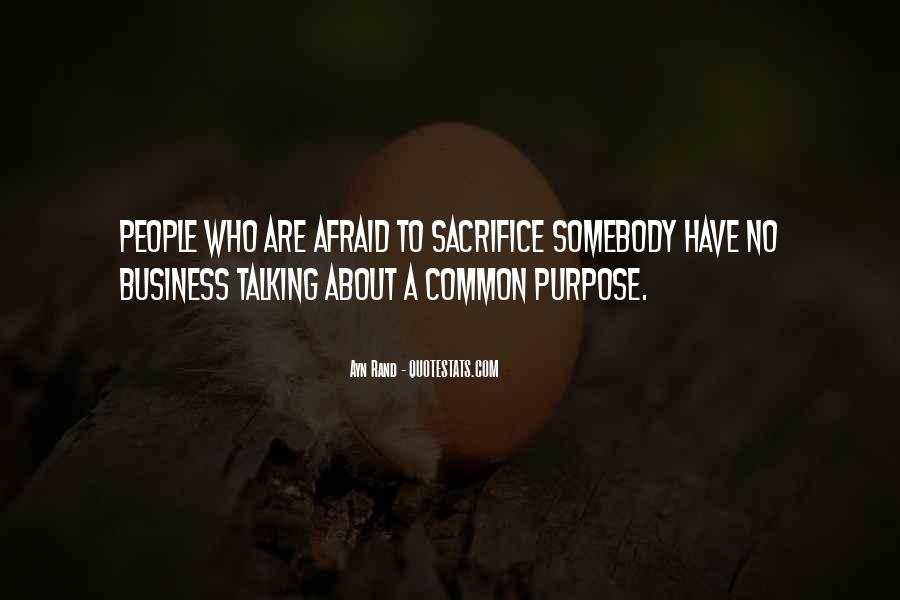 Quotes About Common Purpose #1669964