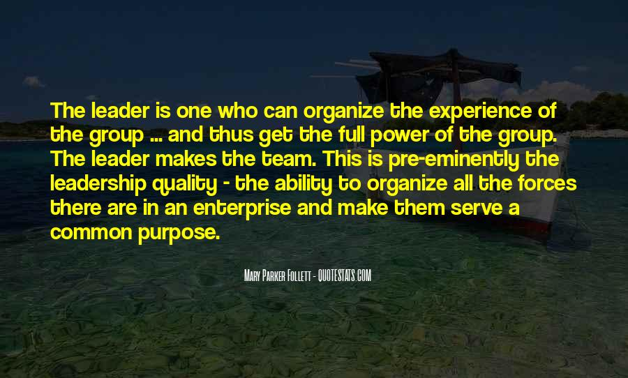 Quotes About Common Purpose #1735697