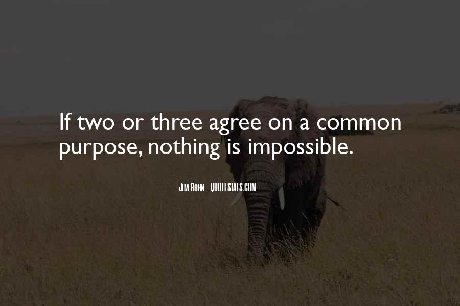 Quotes About Common Purpose #1782936