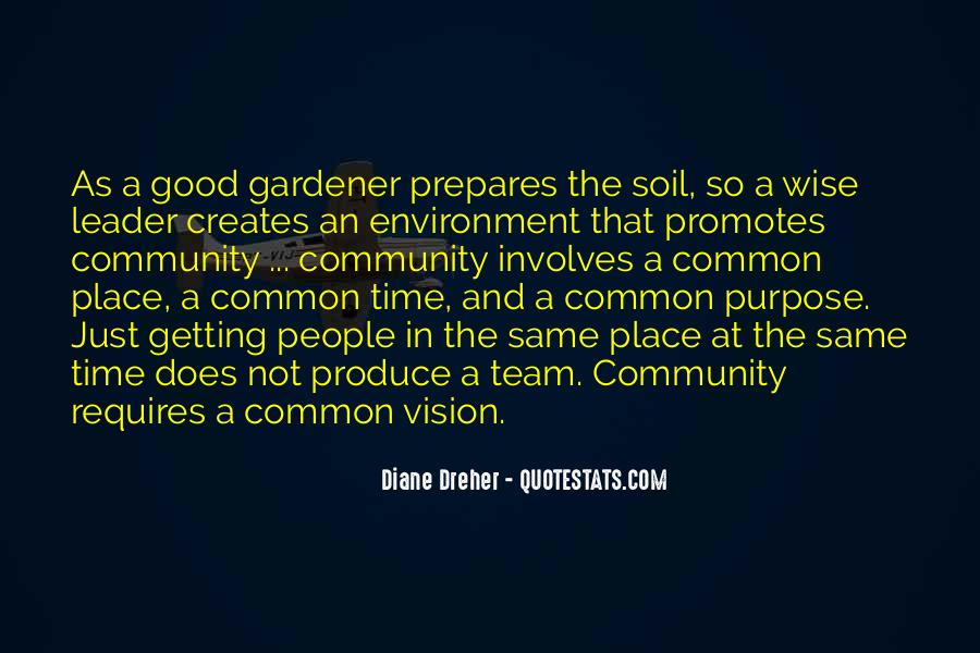 Quotes About Common Purpose #441369