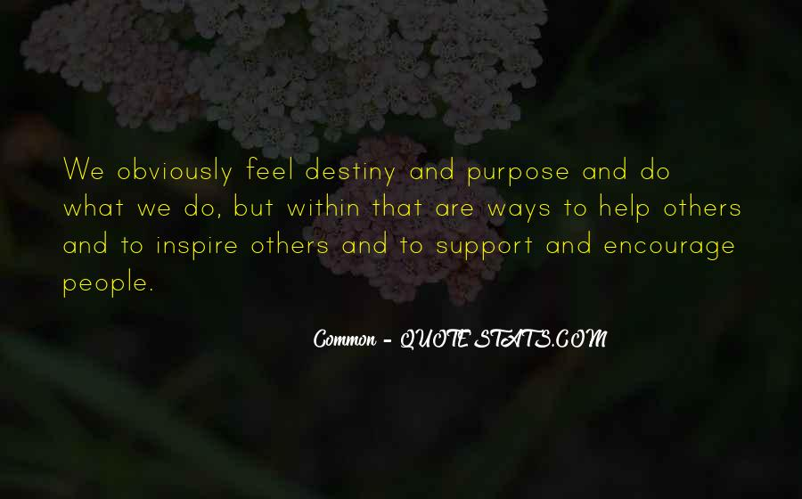 Quotes About Common Purpose #467847