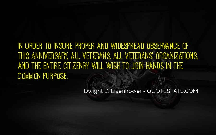 Quotes About Common Purpose #518573