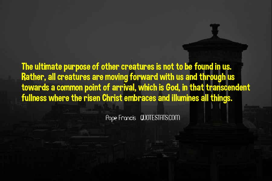 Quotes About Common Purpose #5697