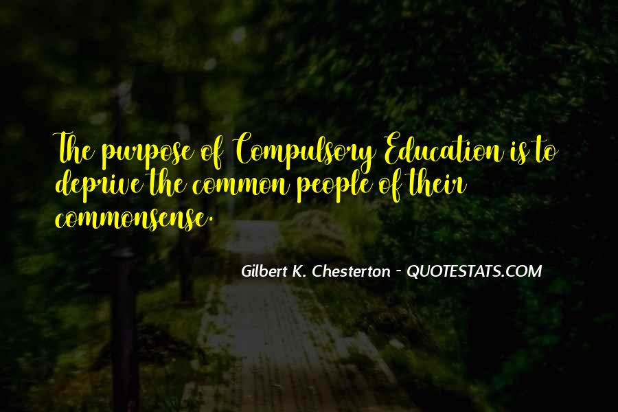 Quotes About Common Purpose #850557
