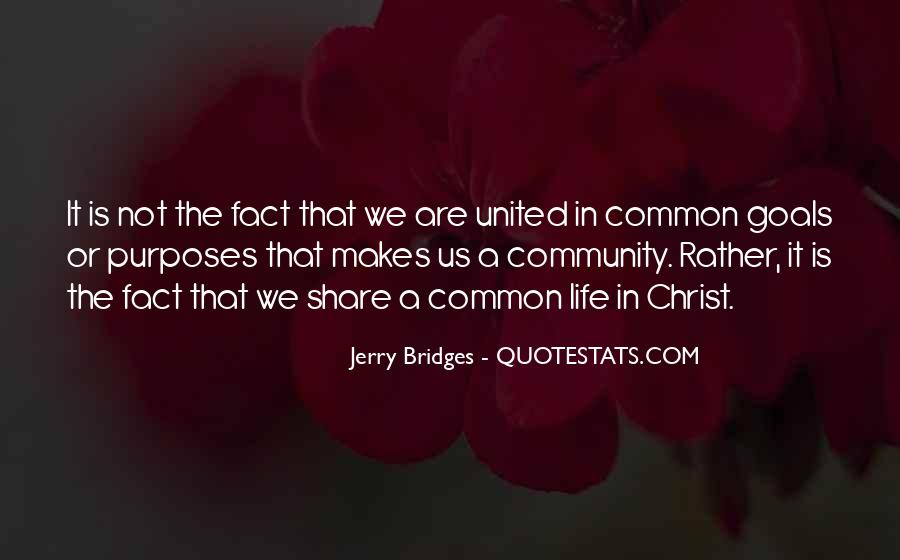 Quotes About Common Purpose #953836
