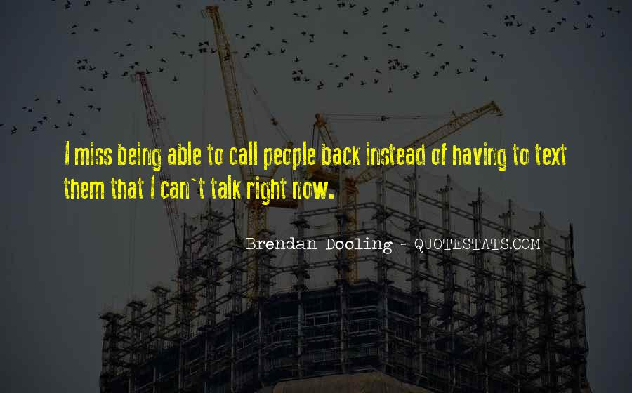 Missing But Can't Talk Quotes #1617824