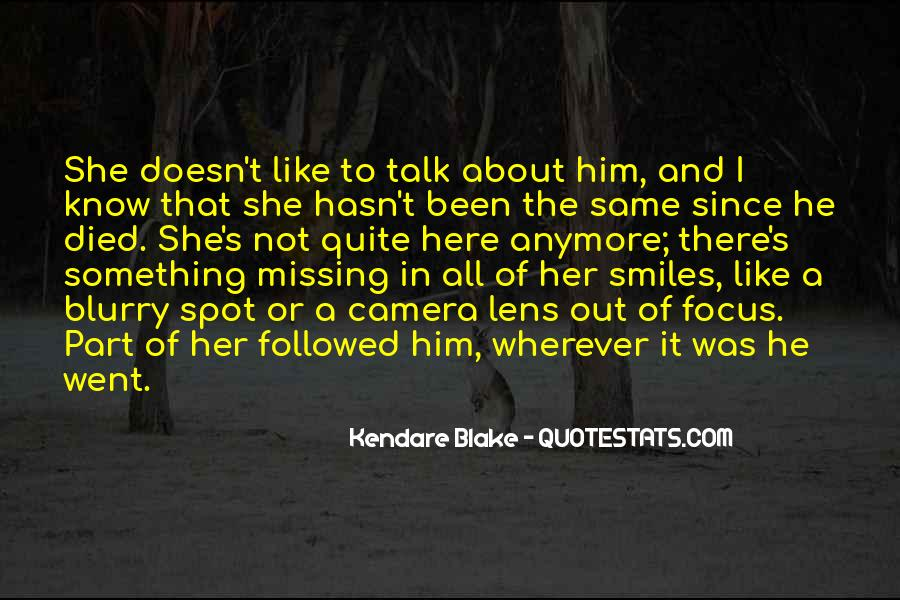 Missing But Can't Talk Quotes #416774