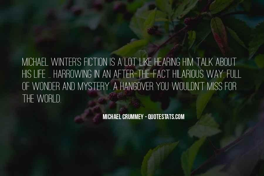Missing But Can't Talk Quotes #809797