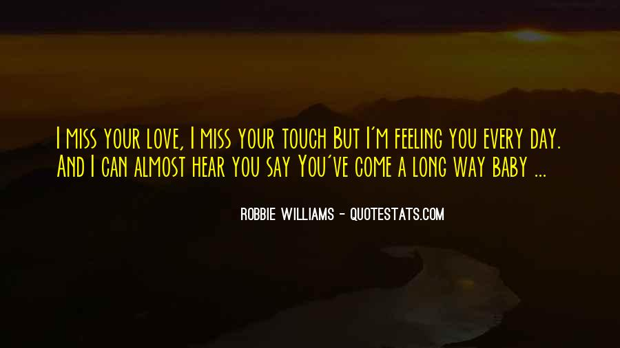 Missing Feeling Quotes #1547256