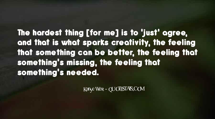 Missing Feeling Quotes #1853909