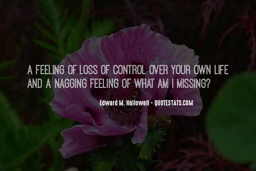 Missing Feeling Quotes #33315
