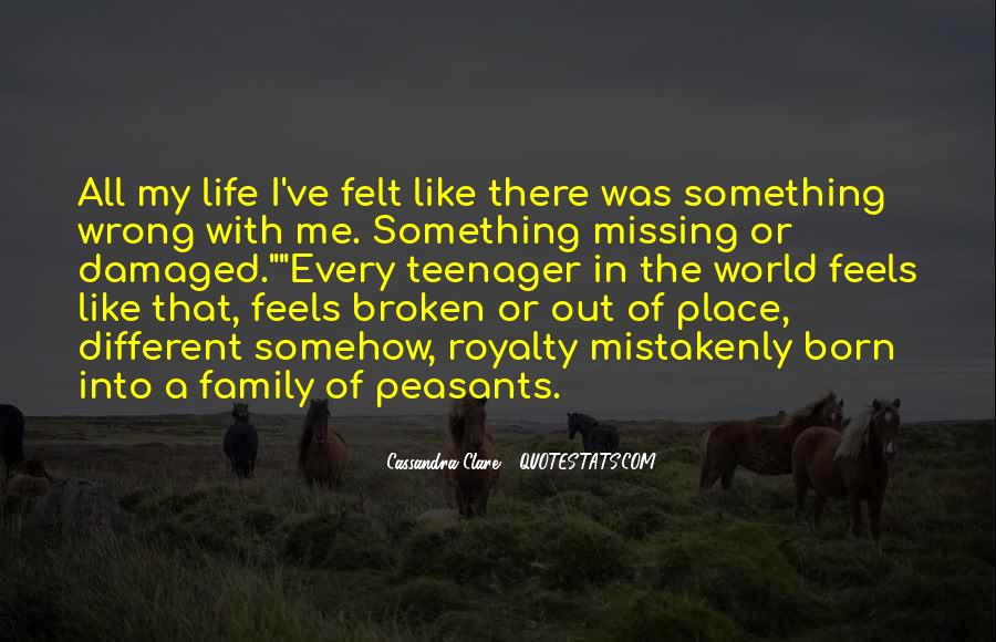 Missing My Family So Much Quotes #1189752