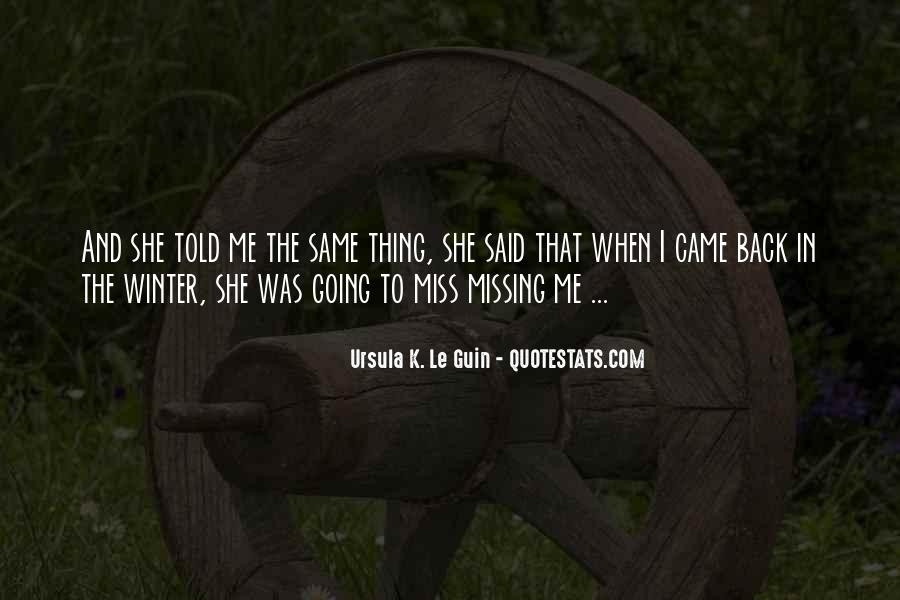 Missing She Quotes #353097