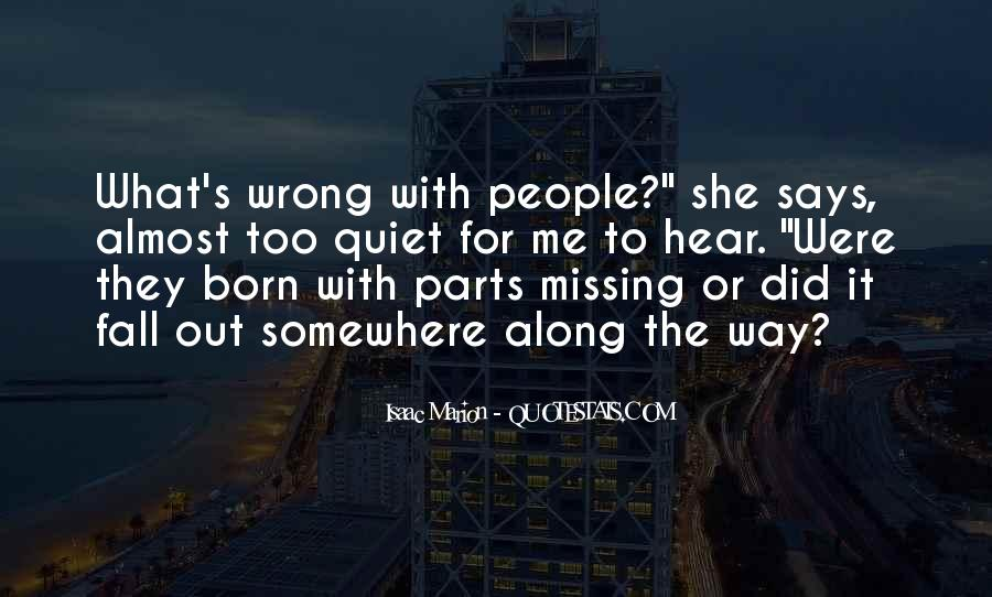 Missing She Quotes #591637