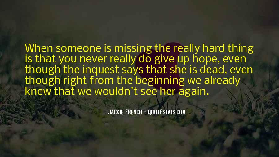 Missing She Quotes #834560