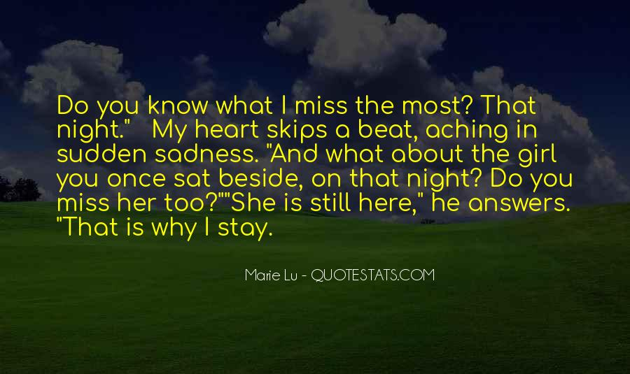 Missing She Quotes #895808