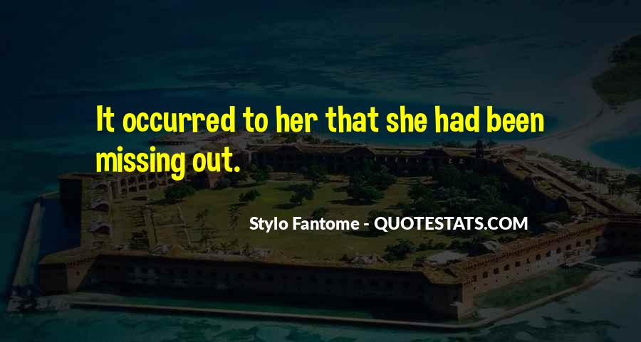 Missing She Quotes #898732