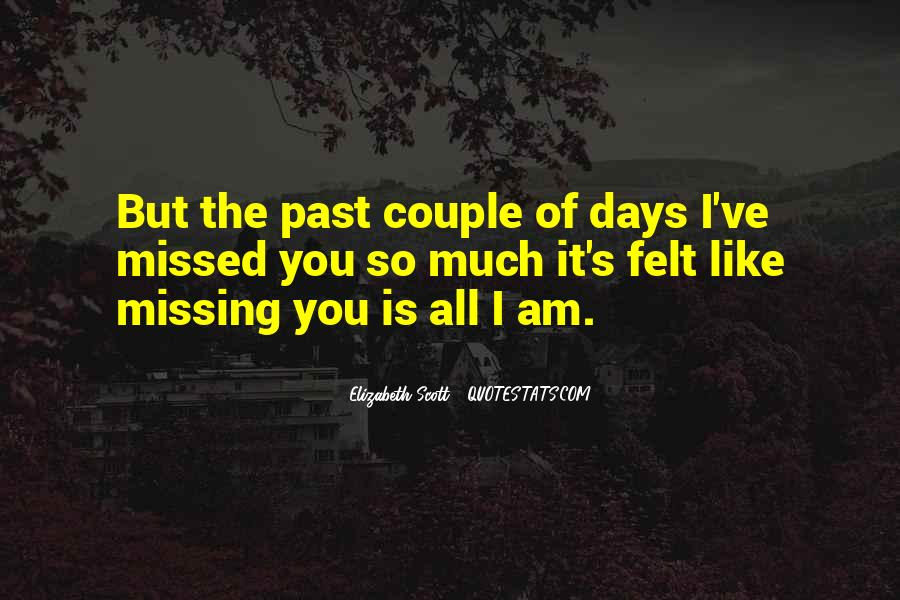 Missing Someone So Bad Quotes #41707