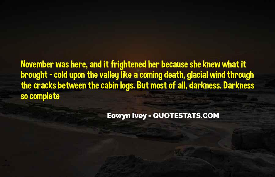 Quotes About Coming Out Of The Darkness #405778