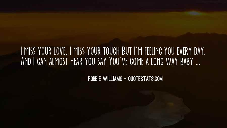 Missing U Baby Quotes #1547256