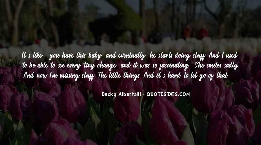 Missing U Baby Quotes #770458