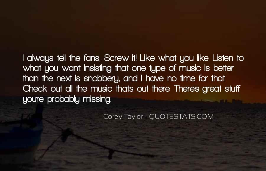 Missing You Always Quotes #1015332