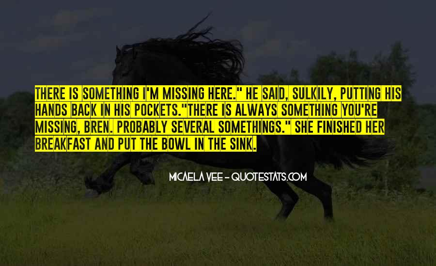 Missing You Always Quotes #1023945