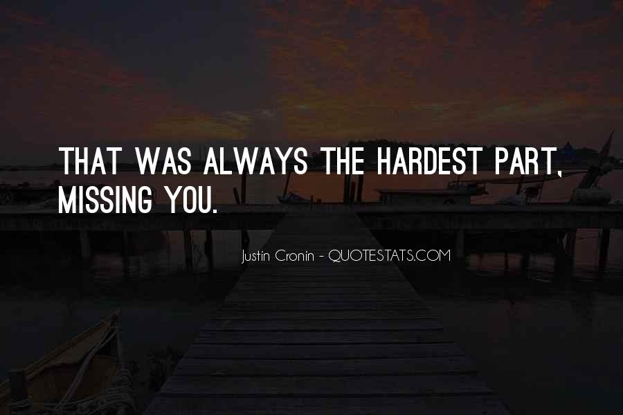 Missing You Always Quotes #1567010