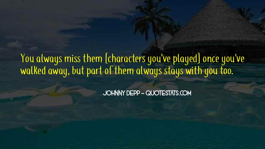 Missing You Always Quotes #774699