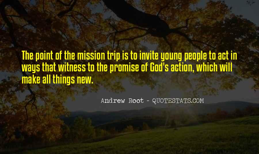 Mission Trip Quotes #137190