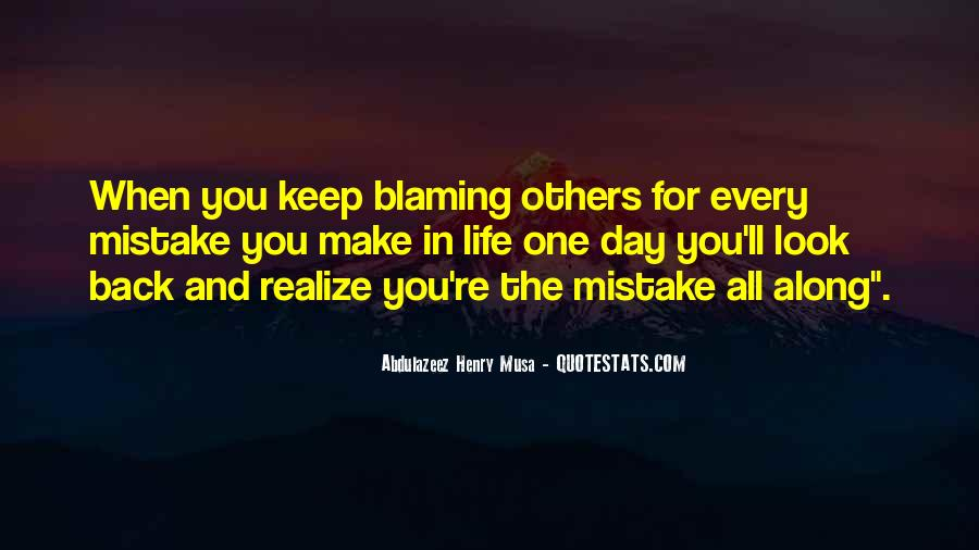 Mistake Realize Quotes #1337098
