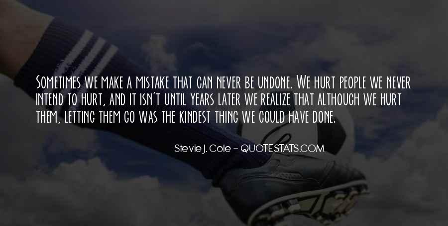 Mistake Realize Quotes #1564487