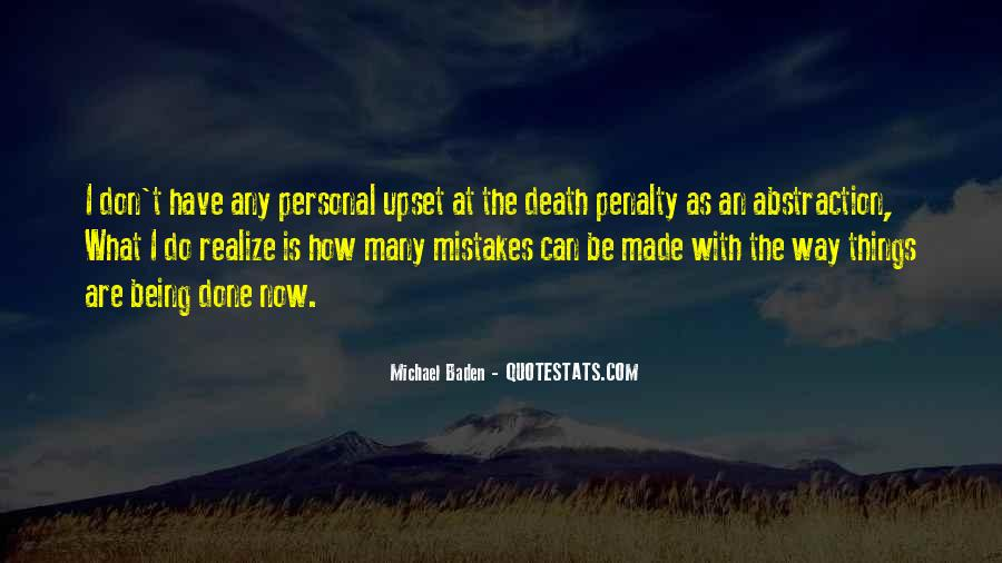 Mistake Realize Quotes #678424