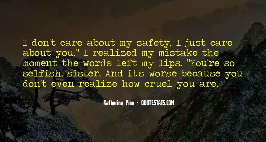 Mistake Realize Quotes #872954