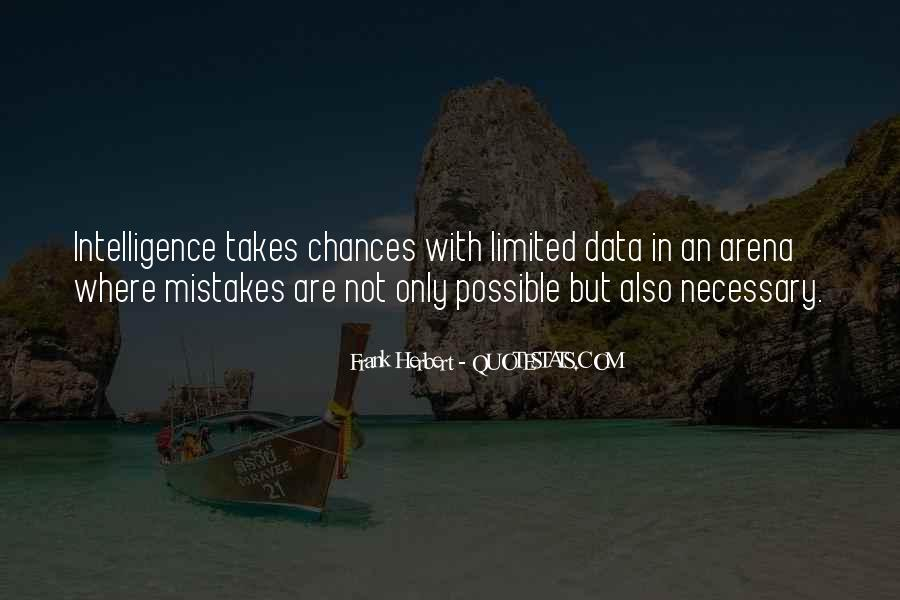 Mistakes Are Necessary Quotes #558686