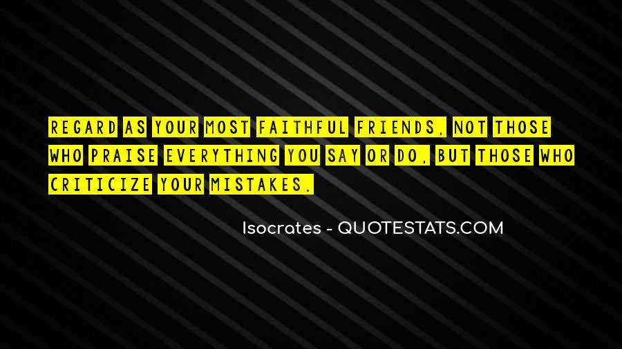Mistakes Friends Quotes #1690987