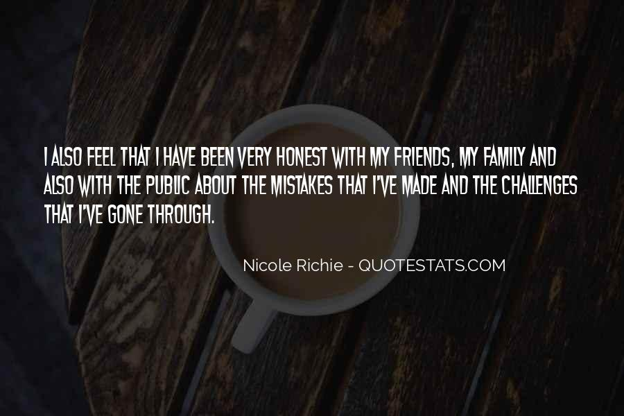 Mistakes Friends Quotes #1816002