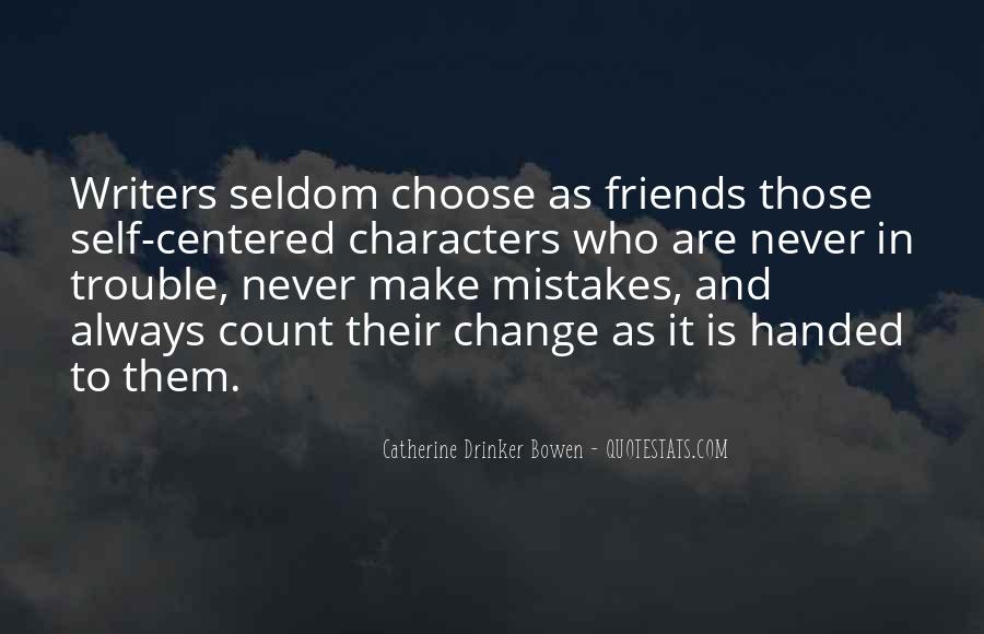 Mistakes Friends Quotes #965808
