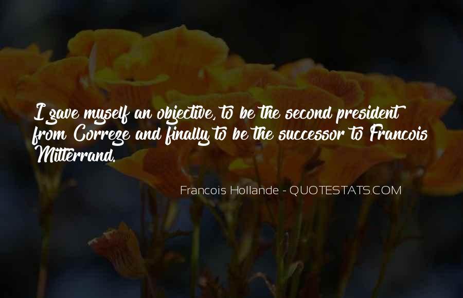 Mitterrand Quotes #1279221