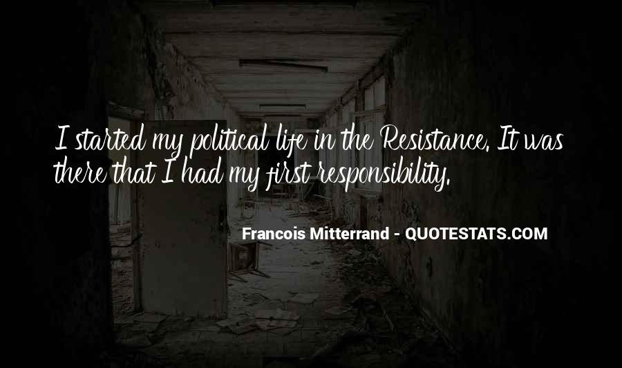 Mitterrand Quotes #1598863