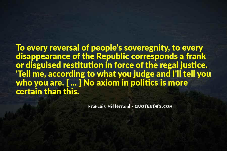 Mitterrand Quotes #1846116