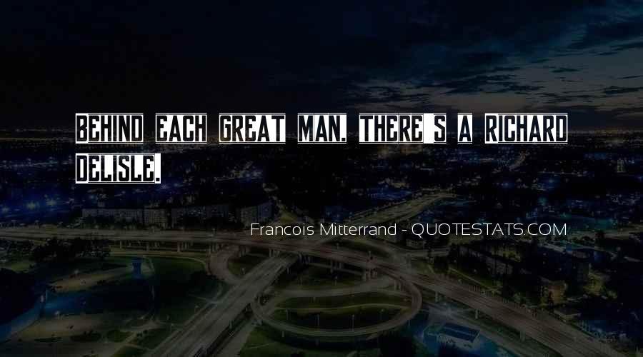 Mitterrand Quotes #379035